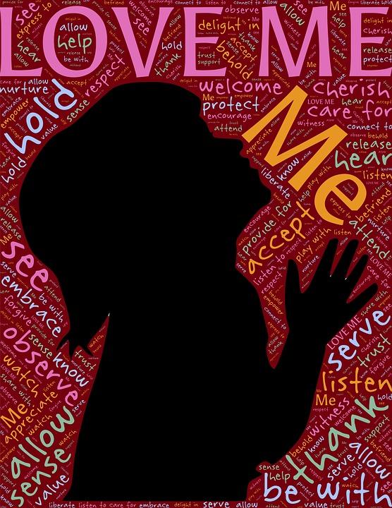 Louise Hay - Love-Me-Affirmatie-zenenzin